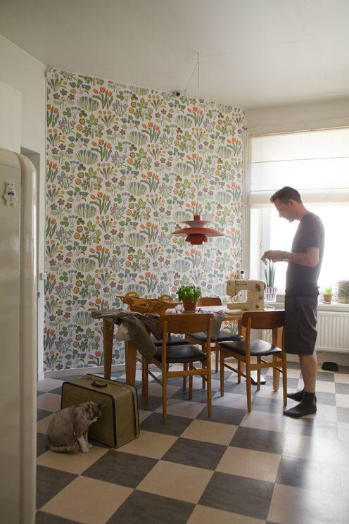 Josef Frank wallpaper | Fine Little Day