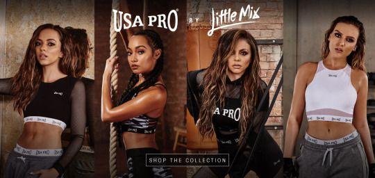 Little Mix x USA Pro