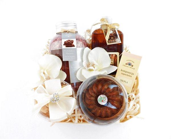 Duży Zestaw Kosmetyków CZEKOLADOWY RAJ  Kosmetyki czekoladowe, zestaw upominkowy