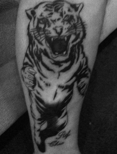 My Tiger Tattoo