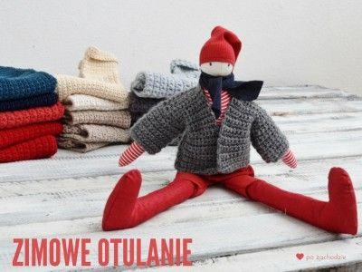 Krasnal skrzat skandynawski w  swetrze (Boże Narodzenie) Christmas, Julnisse, JUL, Dwarf, Gnome, pozachodzie,