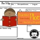 This is one Plot Map / Diagram that my students really like using!! Nursery Rhymes are a great way to introduce plot to your students.  This is als...