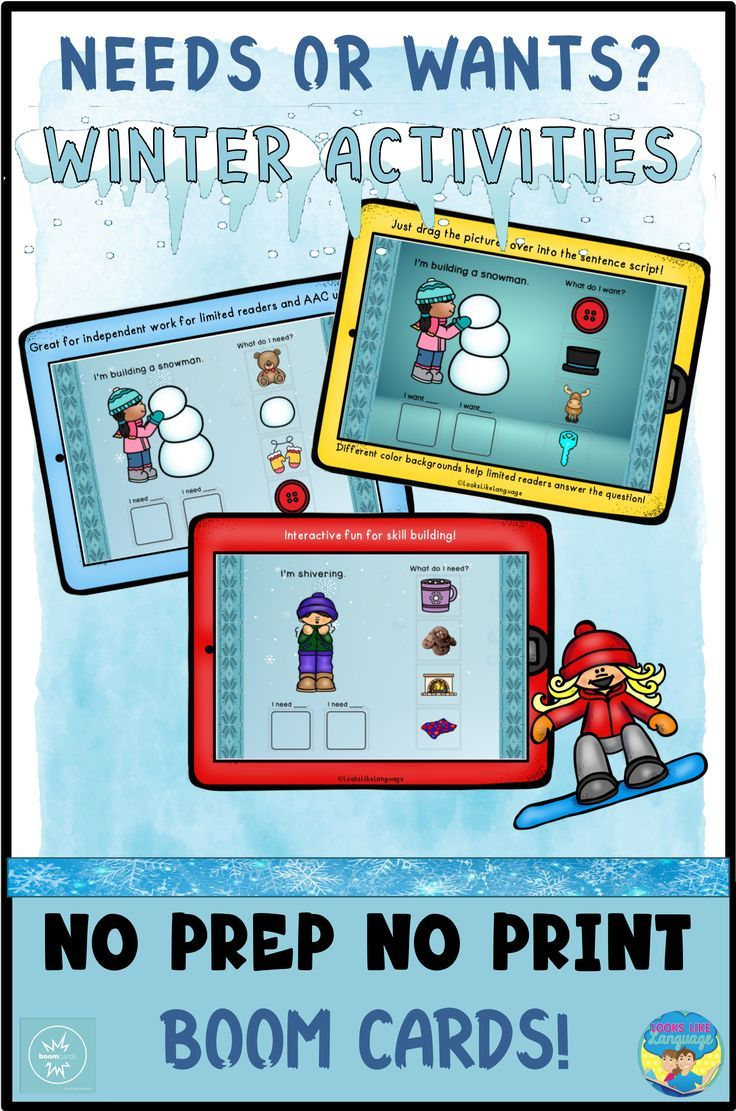 Boom cards speech therapy teletherapy winter needs