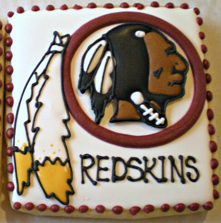 Washington Redskins Cookies My Husband Is A Die Hard Fan