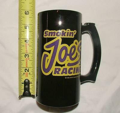 Smokin' Joes Racing Black Ceramic Mug - Camel Cigarettes