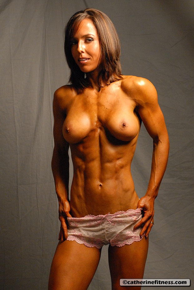Nude female bodybuilder babes