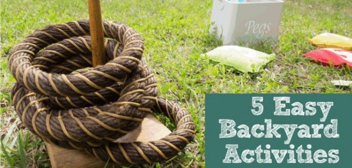 Nature Calls – 5 Things To Do in the Backyard with Your Kids