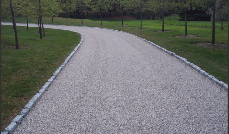 Tar and Chip Driveway - A contractor will first apply a hot mix liquid asphalt cement to a gravel base or your existing driveway (provided that it is in good condition). Next, one or two layers of the crushed stone (of your choice) will be spread on top of the hot asphalt and compacted down. The end result is a stunning and unique driveway that is customized to your specific desires. Benefits: Lower Overall Cost, Natural Beauty, Low Maintenance, Traction, and Longevity…