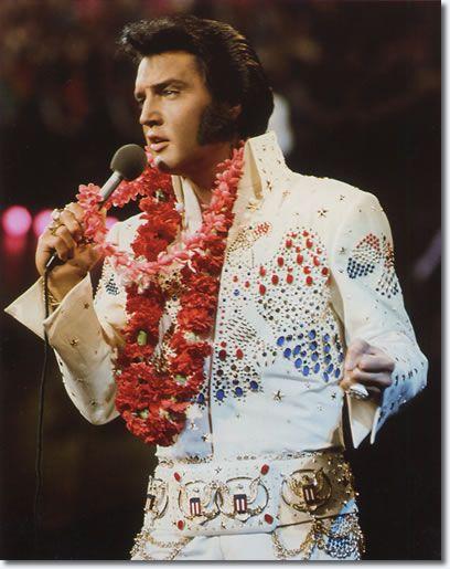 January 14, 1973 :'Aloha from Hawaii'.