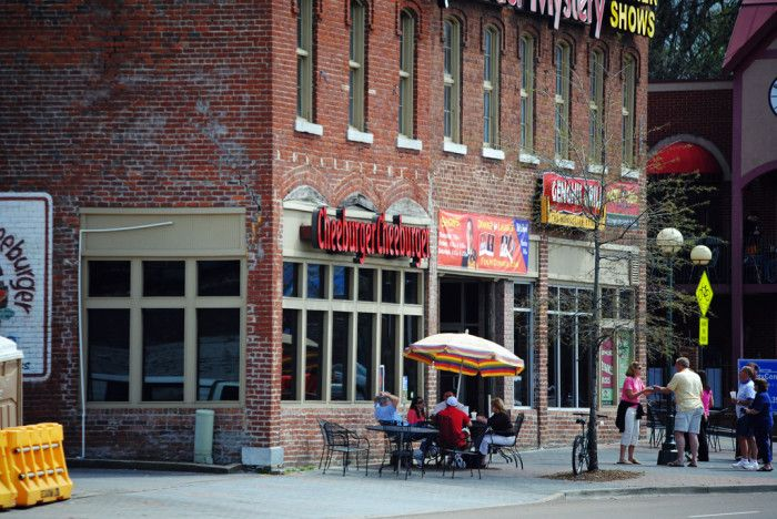 8) Cheeburger Cheeburger - Chattanooga