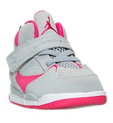 LITTLE GIRLS JORDAN FLIGHT 45 HIGH BASKETBALL TODDLER SIZE 8 NIB