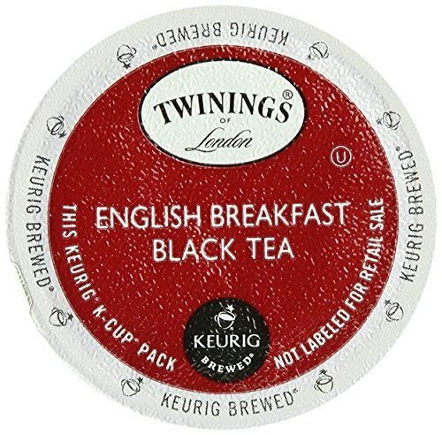 Twinings English Breakfast Tea, K-Cup…