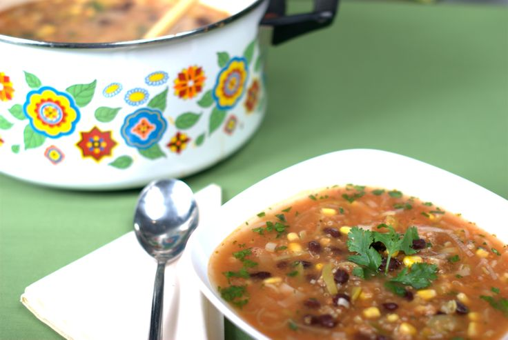 Mexican fiesta soup - Recipe by Briana Santoro