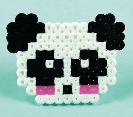Panda Hama-helmistä! Tarvikkeet ja ideat Sinellistä!