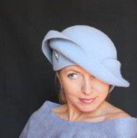 "Gallery.ru / ""Облачный атлас"" - Шляпки. Hats. - irina-spasskaya"