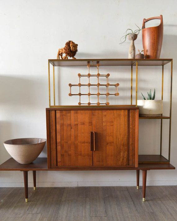Mid Century Bar/Etagere By Mark Furst And Robert By TheModernVault $2,495