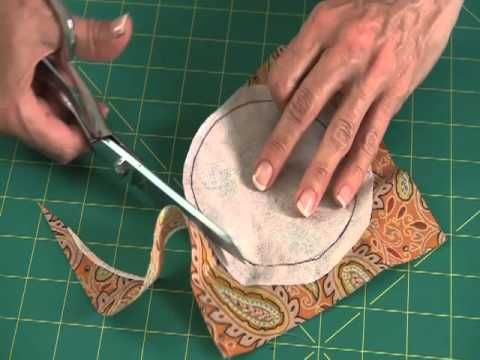 This video brings to life the Sew Easy Lesson from the pages of Love of Quilting. Learn how to make perfect circle appliques for your quilts and other projects. Visit QNNtv.com for thousands of quilting videos!