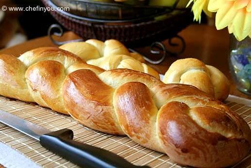 Zopf (Zupfe)- Swiss Braided Loaf Bread | AA | Pinterest