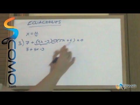 TEMA 6. Resolver ecuaciones de primer grado (2º ESO) - YouTube