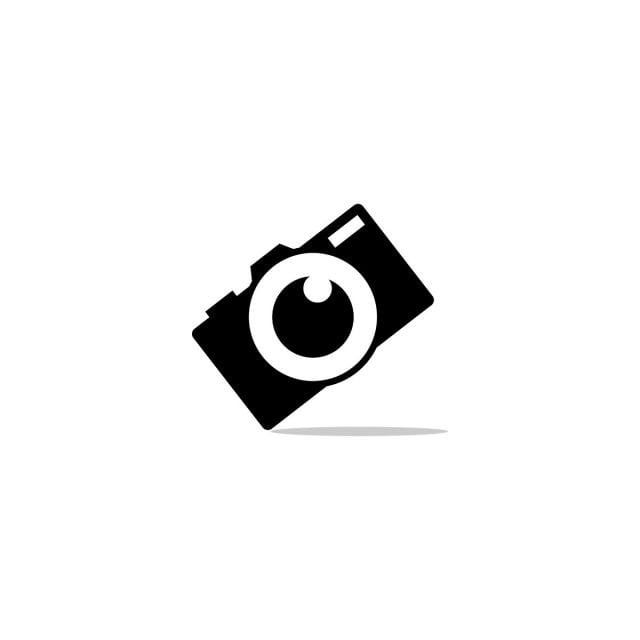 Silhouette Of Camera Photography With Flame On A Lens Logo Design Template Vector Camera Clipart Camera Icons Icons Png And Vector With Transparent Backgrou Lens Logo Camera Logos Design Photography Logos