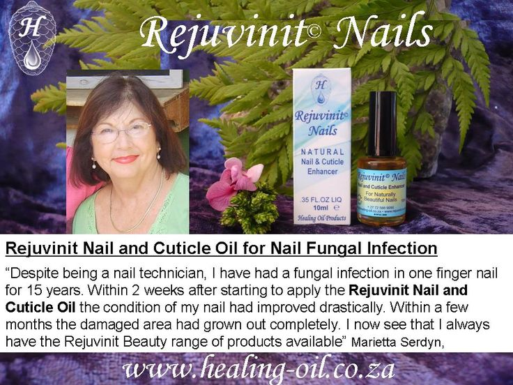 Nail Technicians use Rejuvinit Nails for treating and prevention of nail fungus infections under acrylic and gel nails. Read more www.healing-oil.co.za