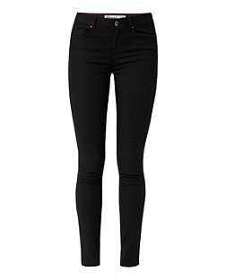 Black (Black) Black Skinny Jeans   311055601   New Look