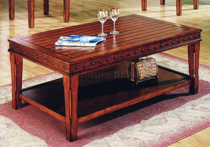 Stylish Solid Wood Coffee Table