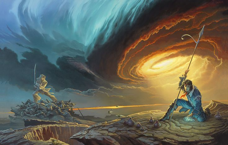 Cover Art for Words of Radiance by Brandon Sanderson. Art by Michael Whelan.