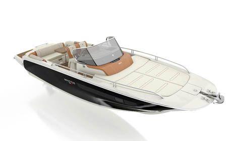 Invictus Yacht nuova serie CX, debutto mondiale al Boot Dusseldorf 2017