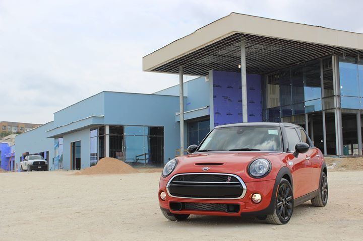 Mini Of San Antonio New Location Construction Mini Cars Mini Dealership Lease Specials