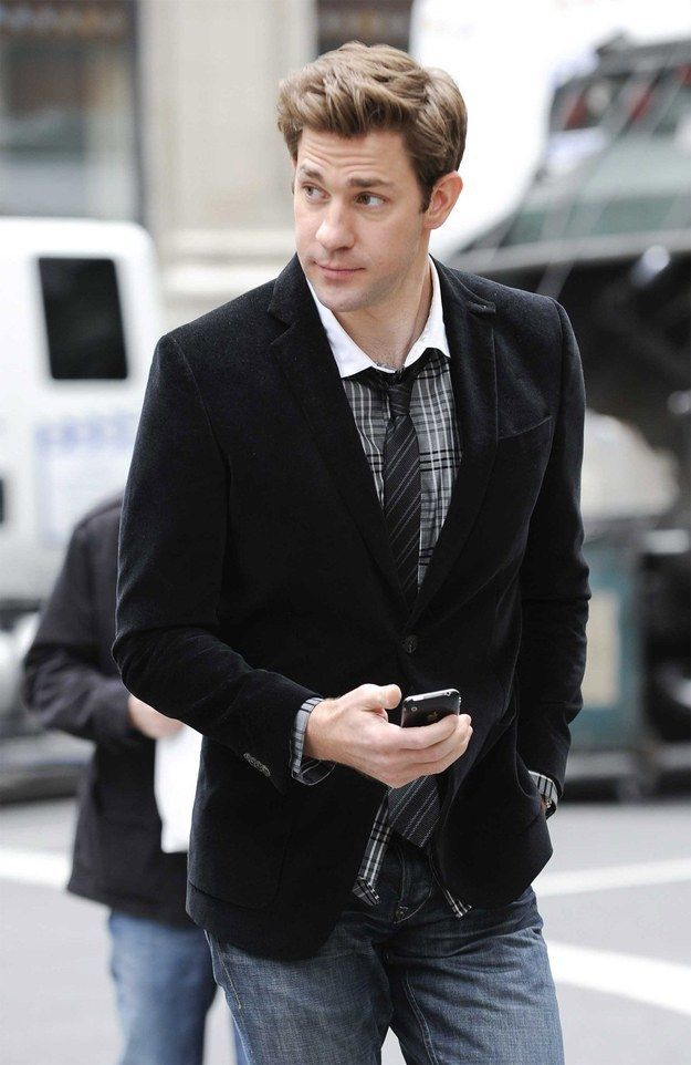 "John ""Fell Out of a J.Crew Catalog"" Krasinski 