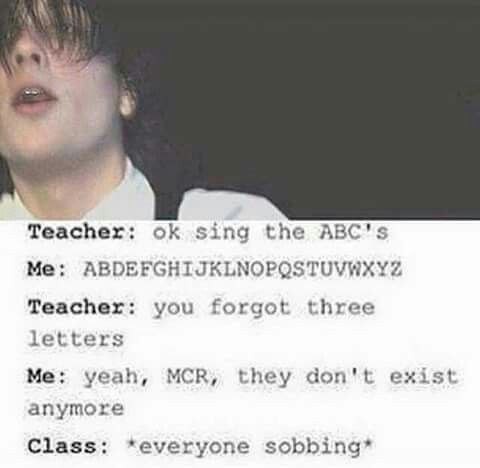 Omg I want to be in a class where everyone gets it<<<I'd be the one to tell the joke and then go sob In a corner because I realise what kind of joke I had just made
