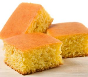 Corn bread from scratch.Delicious corn bread cooked in slow cooker.