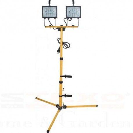 Baustrahler Halogenstrahler 2 x 400 Watt  #strahler #baustrahler #lampe #estexo