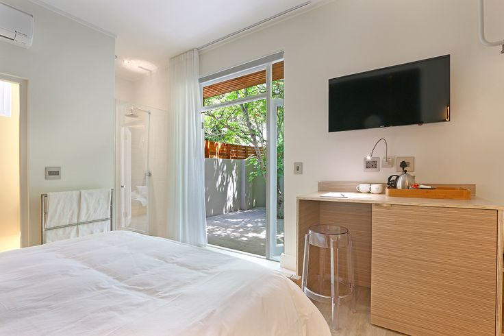 Micro hotel suite with private courtyard. The Parkhouse. Cape Town