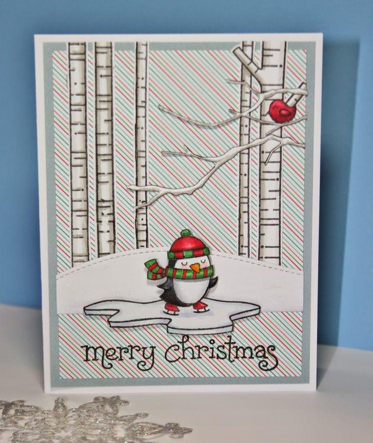 Risultati immagini per lawn fawn christmas card
