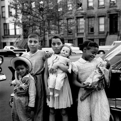 Vivian Maier - New York, NY, 1959