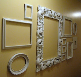empty frames wall art