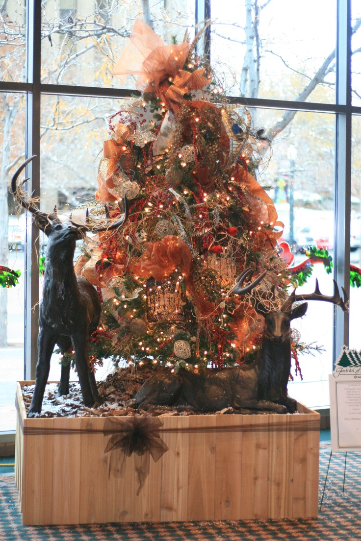 103 Best Images About Christmas Trees Decor Bronze