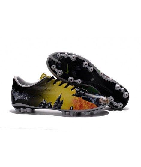 Nike Mercurial Vapor X AG Kunstgrasschoenen - Geel Zwart Groen Voetbalschoenen