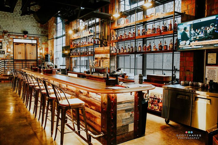 Goodfellas Pizzeria's bar @ The Distillery District in Lexington KY