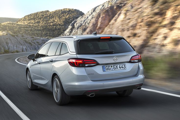 So far, 5.4 million of the 24 million Kadett and Astra sold have been station wagon versions. The new Astra Sports Tourer is the 10th generation of an Opel compact wagon.