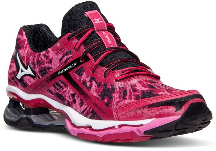 Mizuno Women's Wave Creation 15 Running Sneakers from Finish Line - Finish  Line Athletic Sneakers - Shoes - Macy's