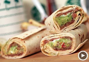 Psst — these fast-food items are secrets,Image: Video still of the Incredible Hulk burrito from Taco Bell (© Pop Sugar)