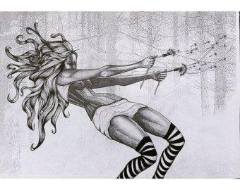 Dandylion - Illustration - Print - Poster Art - A3 - Edit Listing - Etsy