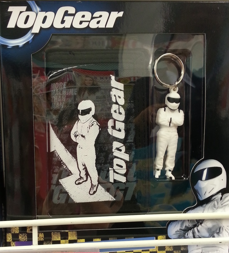 Get dad a TopGear wallet and key ring gift set from Clicks for R119.99