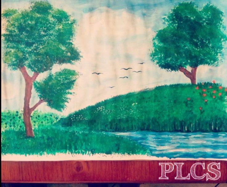 Legelső festményem.