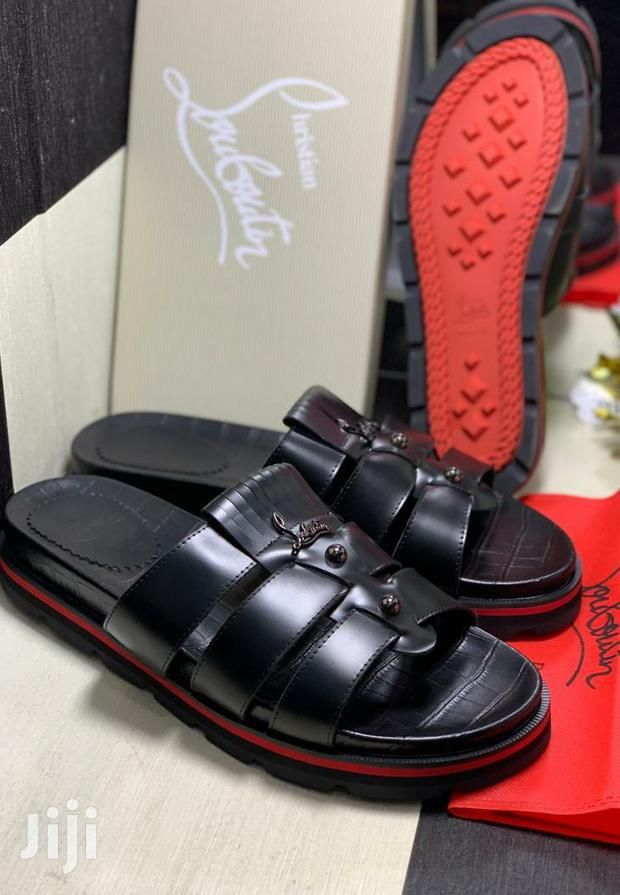 no sale tax casual shoes best deals on Christian Louboutin Men's Slippers in 2020 | Mens slippers ...