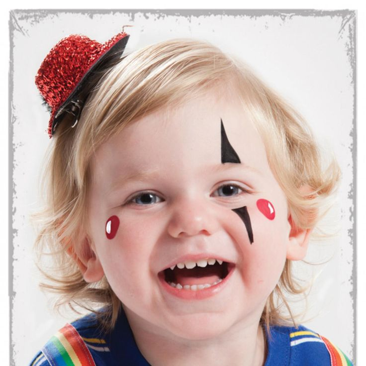 Clown Face Paint For Toddlers