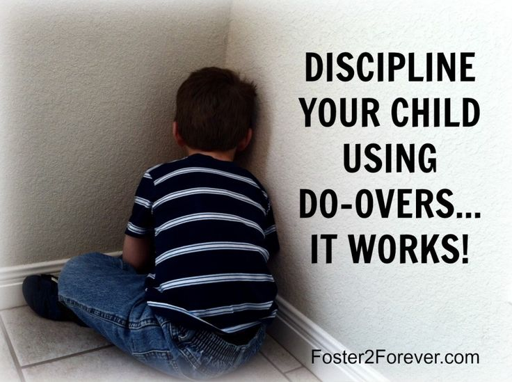 The do-over method of child discipline actually teaches children appropriate behavior by repetition of the right way.